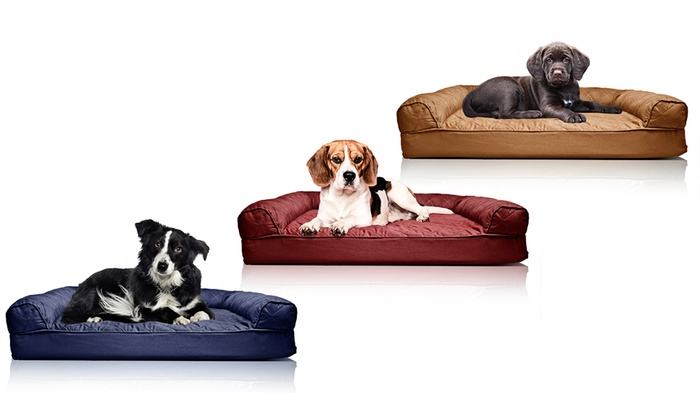 Peachy Up To 72 Off On Furhaven Orthopedic Pet Bed Groupon Goods Gmtry Best Dining Table And Chair Ideas Images Gmtryco