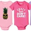 Kidteez Infant Girls' Graphic Bodysuits
