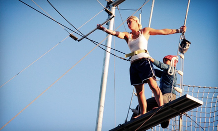 Trapeze High - Escondido: $63 for Two 90-Minute Trapeze Lessons at Trapeze High ($130 Value)