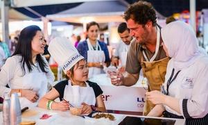 Turret ME: Taste of Abu Dhabi on 9 - 11 November at du Arena (Up to 50% Off)