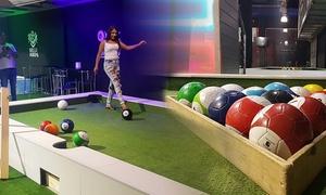 Foot Billiard: מתחם Foot Billiard ברחובות: משחק סנוקר כדורגל בן 55 דקות ב-49 ₪ בלבד - חוויה קבוצתית שמשנה את כללי המשחק!