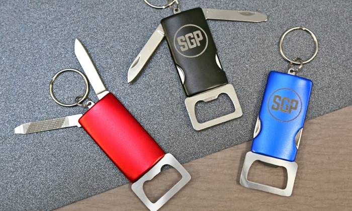 Monogram Online: $5 for a Personalized Bottle Opener with Keychain from Monogram Online ($18.99 Value)