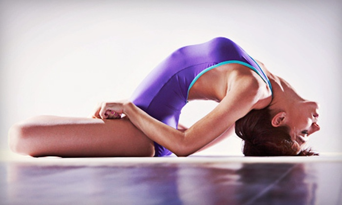 Bikram Yoga Burnaby - Cameron: 10 Bikram Yoga Classes or Month of Classes with Optional Mat and Towel Service at Bikram Yoga Burnaby (Up to 74% Off)