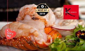 Kobe Jones Melbourne: $69 for a Nine-Course 'Lobster Lovers' Degustation or $84 to Include a Glass of Moët at Kobe Jones (Up to $175 Value)
