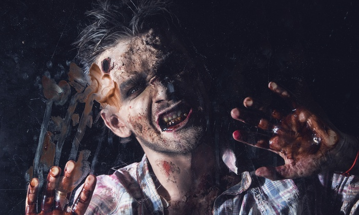 The Haunting Experience - Cottage Grove: $20 for a Big Zombie Hunter Paintball Adventure for Two at The Haunting Experience ($30 Value)