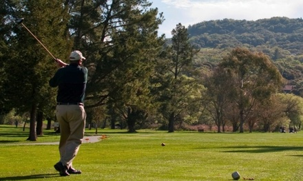18-Hole Round of Golf Including Cart for One, Two, or Four at Bennett Valley Golf Course (Up to 24% Off)