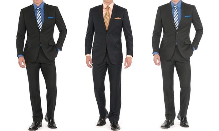 Braveman Men's 2-Piece Suit: Braveman Men's 2-Piece Suit