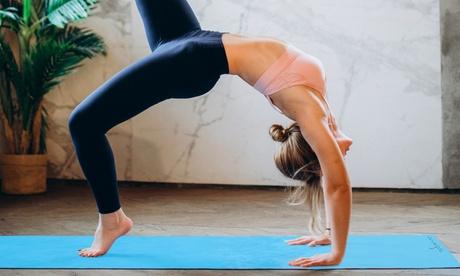 Esterilla para yoga o pilates