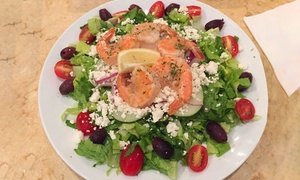 Yamas Mediterranean Cuisine: Greek and Mediterranean Food at Yamas Mediterranean Cuisine (35% Off). Two Options Available.