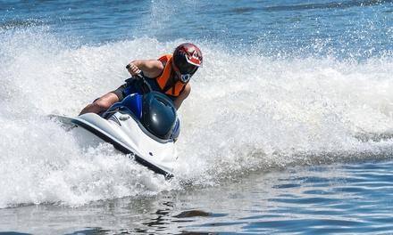 One- or Two-Hour Jet Ski Rental at MIA Ski (Up to 71% Off)