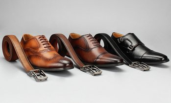 competitive price a92c7 98ef5 image placeholder Vincent Cavallo Men s Dress Shoes with Free Matching Belt