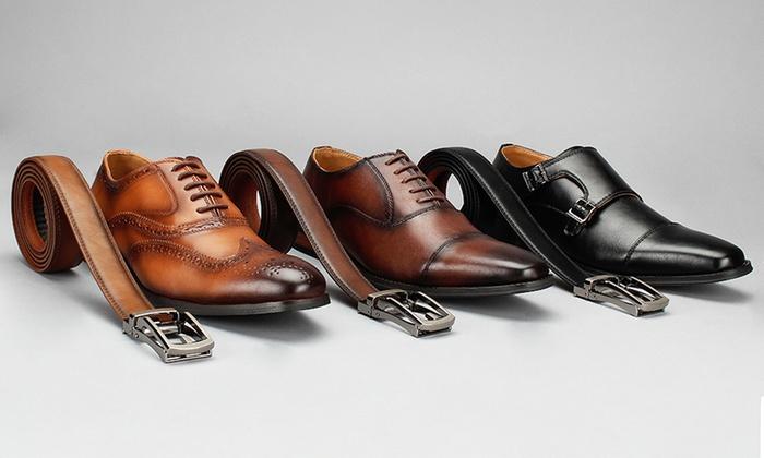 Vincent Cavallo Men's Dress Shoes with