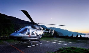 Helicentre Liverpool Ltd: One-Hour Helicopter Flying Lesson for One or Two with Helicentre (Up to 80% Off)