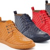 Solo Men's Quilted Lace-Up Sneaker Boots