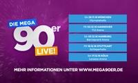 Die Mega 90er Party im November und Dezember in München, Hannover, Stuttgart, Hamburg und Köln (29 % sparen)