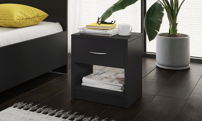One or Two Alfa One-Drawer Bedside Tables