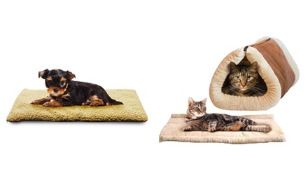 $15 for a Soft Plush Pet Bed or $18 for a Cat Bed Don't Pay $49