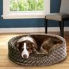 Oval Orthopedic Pet Loungers