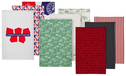 Premier Housewares Two- or Three-Piece Cotton Tea Towels Sets