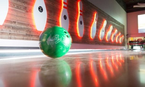Up to 63% Off Bowling at Revel & Roll West at Revel & Roll West, plus 6.0% Cash Back from Ebates.
