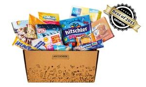 MyCouchbox: Snack-Überraschungsbox mit Markenprodukten von mycouchbox.de (bis zu 42% sparen*)