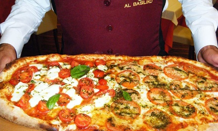 Menu pizza e birra da Basiliko a 24,99euro