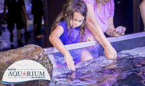 Up to 54% Off Admission and Activities at Austin Aquarium at Austin Aquarium, plus 6.0% Cash Back from Ebates.