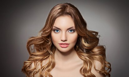 image for Haircut Package with Optional Balayage or Highlights at Frank Gironda Salon & Day Spa (Up to 48% Off)