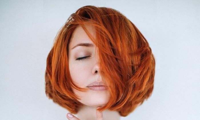Doug Smith at Kiki's Hair Studio - Kiki's Hair Studio: Cut with Deep Conditioning, All-Over Color, or Partial Highlights from Doug Smith at Kiki's Hair Studio 50% Off)