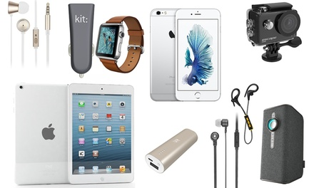 Mystery Deal, Chance to Receive Apple iPad Mini Apple Watch, Fresh Ribbon Headphones and InCar Charger or Smart Speaker