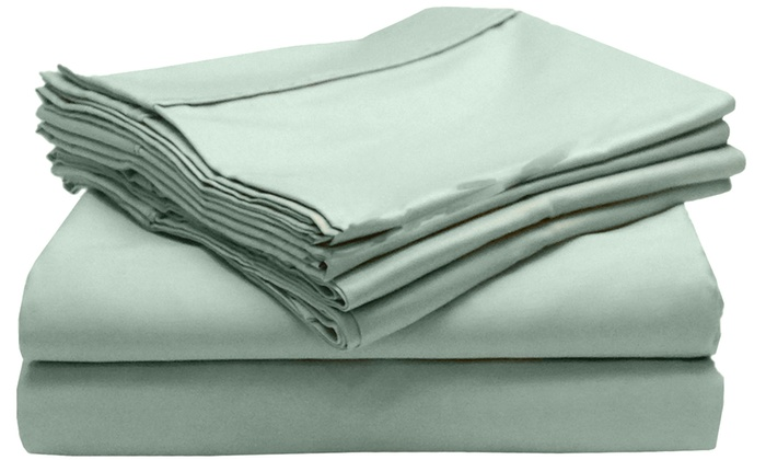 Blissful Living 800 Thread-Count Sheet Set (4-, or 6-Piece ...