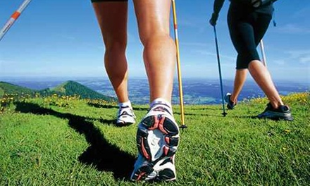 3 lezioni nordic walking al Parco Monte Stella