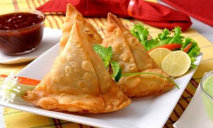 Kuchnia Nepalska I Więcej Danie Główne Z Zupą Lub
