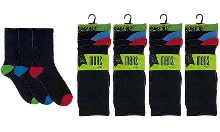 12 or 24 Pairs of Socks in Choice of Design