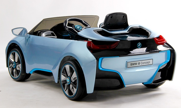 bmw i8 elektro kinderauto groupon goods. Black Bedroom Furniture Sets. Home Design Ideas