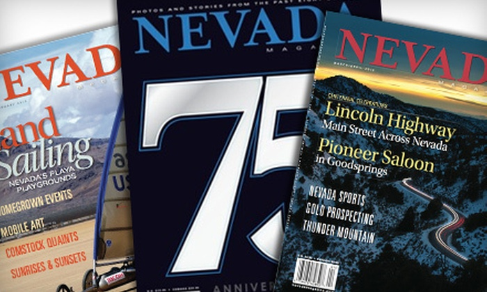 """Nevada Magazine"": $16.99 for a One-Year ""Nevada Magazine"" Subscription with 75th Anniversary Edition ($34 Value)"