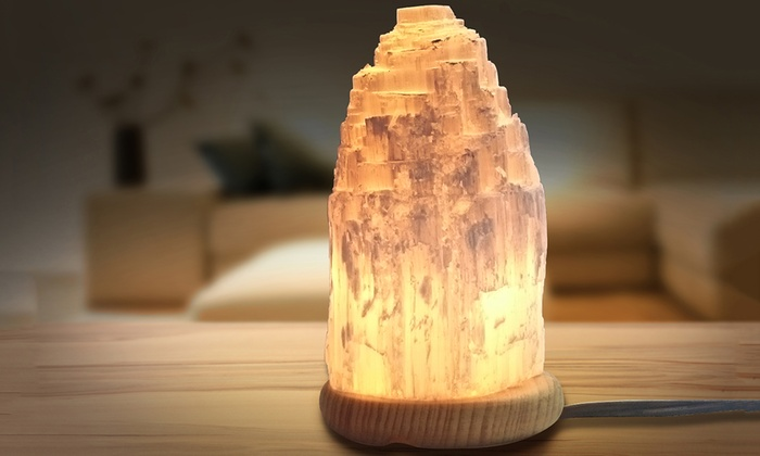 Perfect Moroccan Selenite Lamp