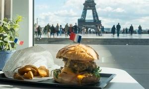 Menu burger avec city tour pour 2 ou 4