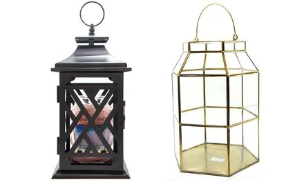 Yankee Candle Deco Longue Lantern, Maize Metal Lantern or Classic Large Lucky Dip Jar