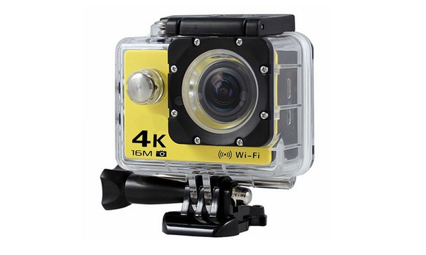 From $29 for a Range of Action Cameras with Waterproof Case and Mounts