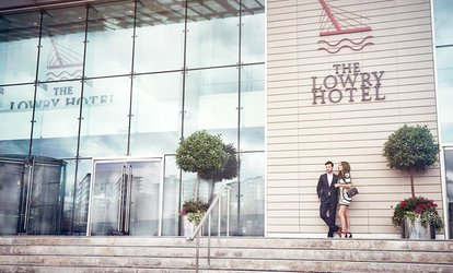 image for Afternoon Tea with a Glass of Prosecco for Two or Four at The River Bar & Restaurant at The Lowry Hotel