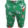 LoudMouth Jingle Bones Men's Flat-Front Golf Shorts