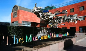 The Museum of Contemporary Art ( moca ): Admission for Two or Four with $10 or $20 Off at Gift Shop at The Museum of Contemporary Art (56% Off)