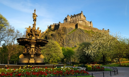 Edinburgh: 1 or 2 Nights with Scottish Breakfast and Train at Hotel ibis Edinburgh Centre South Bridge Royal Mile*