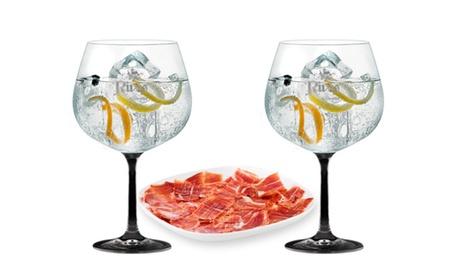 Desgustación de 4, 8 y 12 gin-tonics para 2, 4 o 6 con tabla de jamón, de quesos o de patés desde 14,95 € en Dream Time