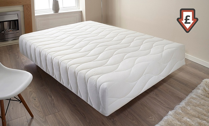Pure Comfort Memory Foam Mattress from £74.99 With Free Delivery (Up to 81% Off)
