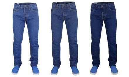 Men's Jack South Straight Leg Jeans for £7.99