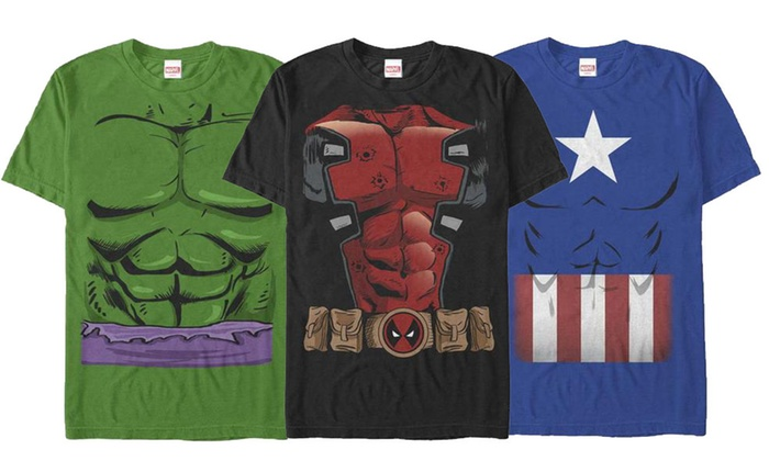 df1abad400c Up To 20% Off on Marvel Costume Tees