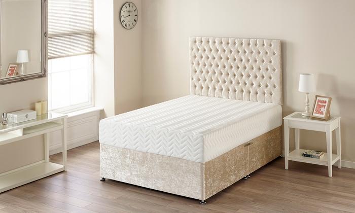 pure relief memory foam mattress groupon goods. Black Bedroom Furniture Sets. Home Design Ideas