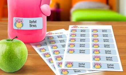 1 o 2 packs de 48 Etiquetas personalizadas para niños desde 2 € en Dinkleboo (ES)